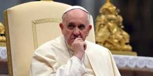 confused pope